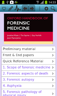 Oxford Handbook of Forensic M for pc