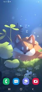 Sleepy Fox Live Wallpaper