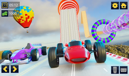 Impossible Formula Car Racing Stunt New Free Games for pc