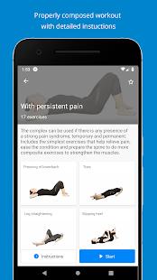 Back pain exercises (PRO)