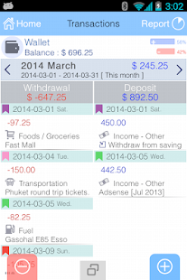 EvoWallet - Money Tracker [Premium]
