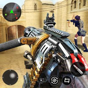 FPS Offline Strike : Encounter strike missions Online PC (Windows / MAC)