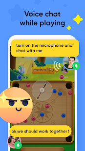Voga - Play games and voice chat with new friends.