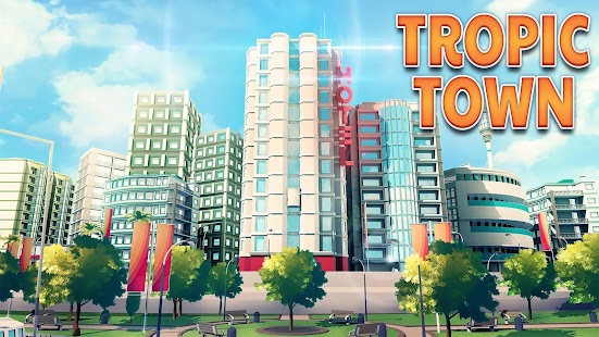 Town Building Games: Tropic City Construction Game for pc