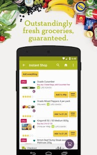 Ocado: grocery shopping & food delivery made easy