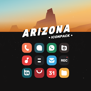 Arizona - Flat One UI Icon Pack for pc