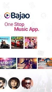 Bajao: Best Audio Video Music App and Music Player