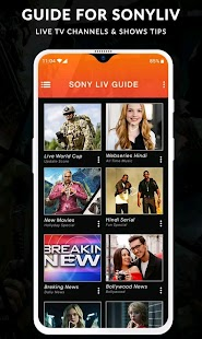 SonyLiv - Live TV Shows & Movies Guide