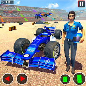 Police Formula Car Derby Demolition Crash Stunts Online PC (Windows / MAC)