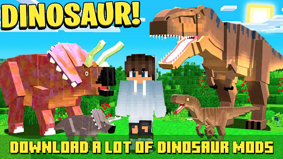 Jurassic Craft Mod - Dinosaur Addon for pc
