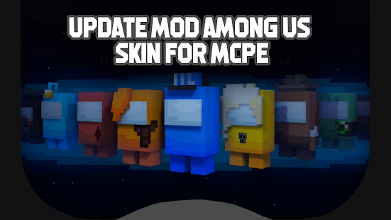 Update Mod Among Us Skin for MCPE for pc
