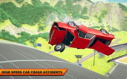 Car Crash Driving Simulator: Beam Car Jump Arena