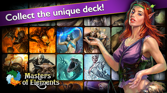 Masters of Elements-CCG game + online arena & RPG