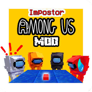 Impostor + Among Us mod skin MCPE Online PC (Windows / MAC)