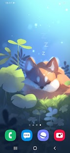 Sleepy Fox Live Wallpaper for pc