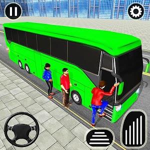 City Passenger Coach Bus Simulator: Bus Driving 3D Online PC (Windows / MAC)