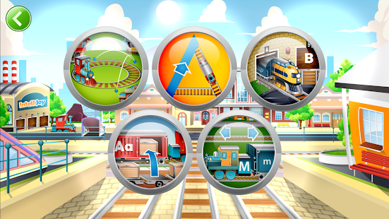 Learn Letter Names and Sounds with ABC Trains for pc