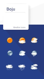 Boju weather icons for pc