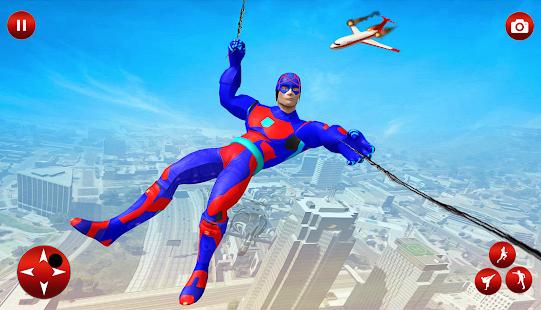 Flying Superhero Robot Speed Hero for pc