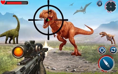 Real Dinosaur Hunter: Hunting Games for pc
