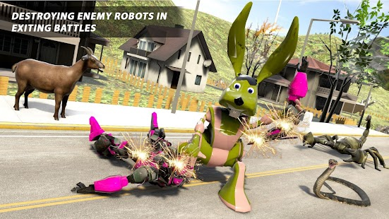 Bunny Jeep Robot Game: Robot Transforming Games for pc
