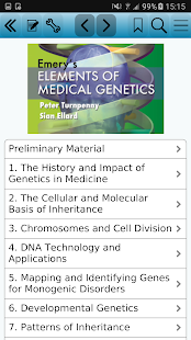 Emery's Elements of Medical Genetics 14e for pc