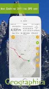 Geographica [Offline GPS APP] for pc