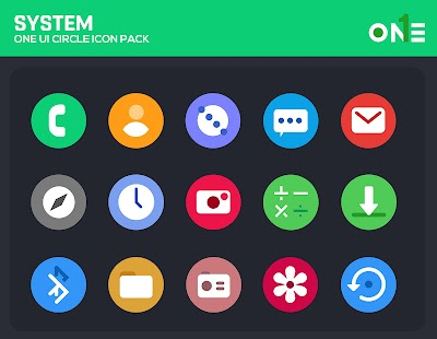 OneUI Circle Icon Pack - S10 for pc