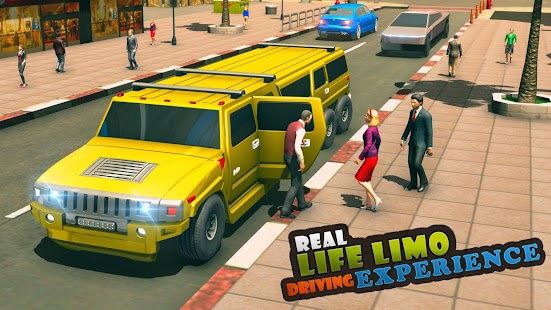 Big City Limo Car Driving Simulator : Taxi Driving for pc