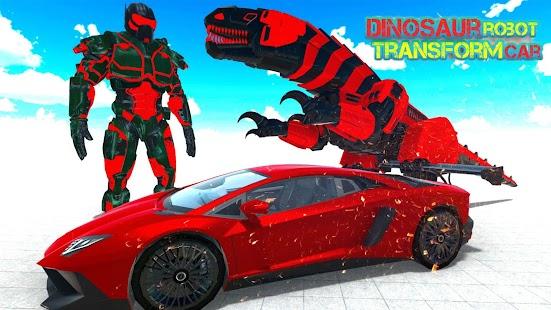 Dinosaur Robot Transform: Car Robot Transport Sim for pc