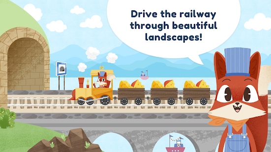 Little Fox Train Adventures for pc