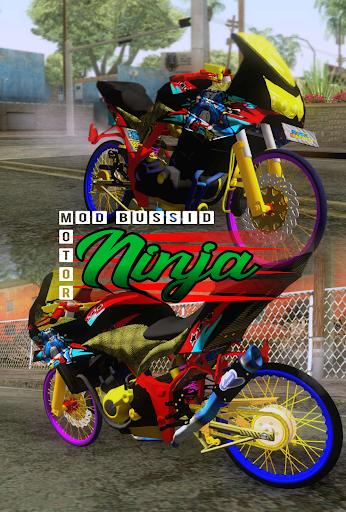 Mod Bussid Motor Ninja 1.1 Screenshots 1