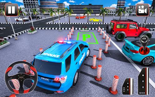 Police Parking Adventure Car Games 2021 3D 1.3 Screenshots 8