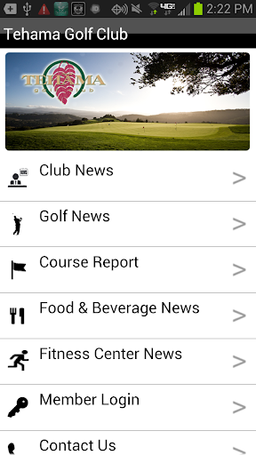 tehama golf club screenshot 2