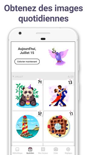 Pixel Art : Jeux de coloriage par numéros apk mod screenshots 5
