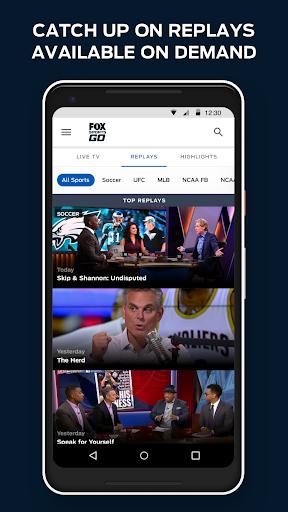 Fox Sports Go 4.8.0 Screenshots 4