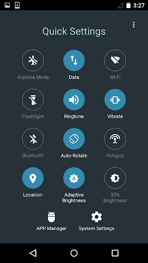 Quick Settings for Android- Toggle & Control Panel  Screenshots 5