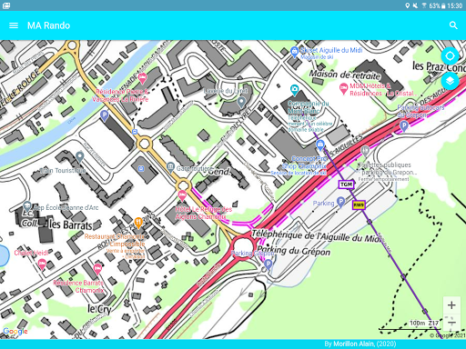 GPS for Hiking, Cycling, Hunting and offline maps modavailable screenshots 9