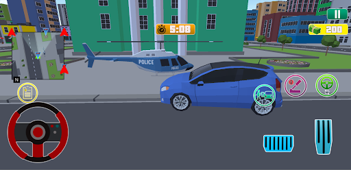 Grand City Theft War: Polygon Open World Crime apkpoly screenshots 5