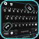 最新版、クールな Classy Black Business のテーマキーボード