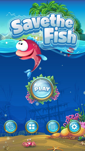 Save The Fish - Physics Puzzle Game  screenshots 1