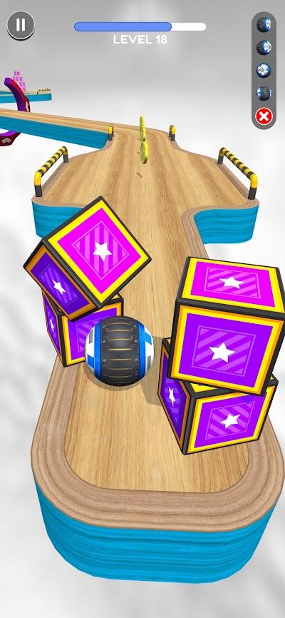 Going Balls Android App Screenshot