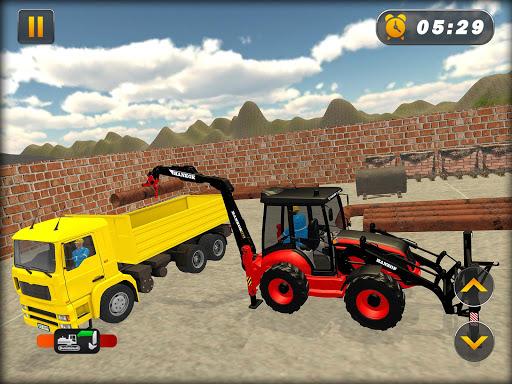Heavy Excavator Crane Simulator Construction Games apkdebit screenshots 7
