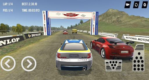 Super Rally  3D apktreat screenshots 2