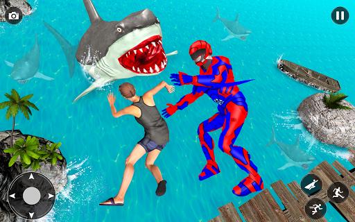 Superhero Police Speed Hero:Rescue Mission screenshots 21