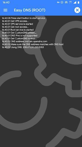 Easy DNS (NO/ROOT)  screenshots 1
