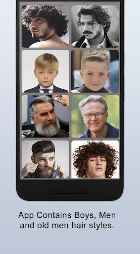 Boys Men Hairstyles and boys Hair cuts 2021 apktram screenshots 10