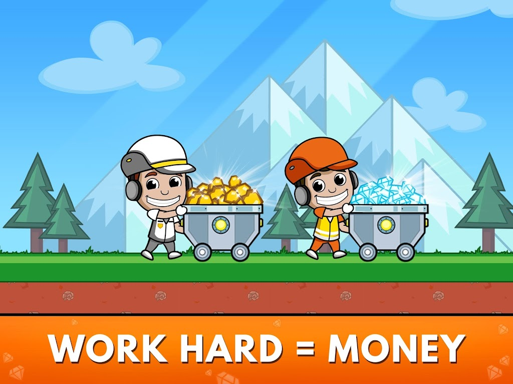 Idle Miner Tycoon: Gold & Cash Game MOD poster 19