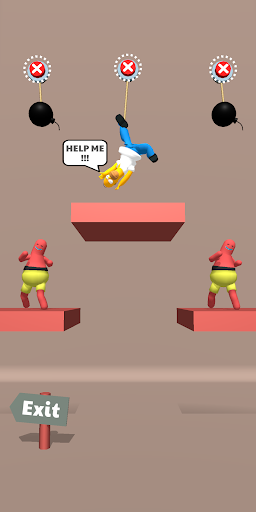 Save the Dude! Rope Puzzle Game 1.0.33 screenshots 5