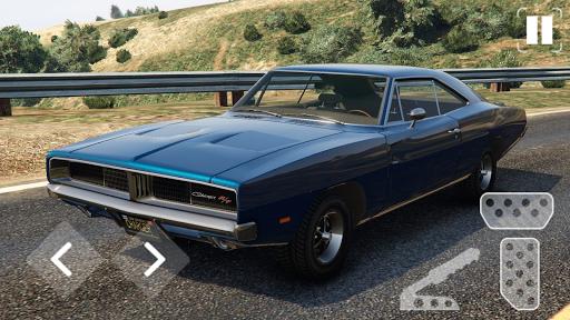 Speed Dodge Charger Classic Racing screenshots 1